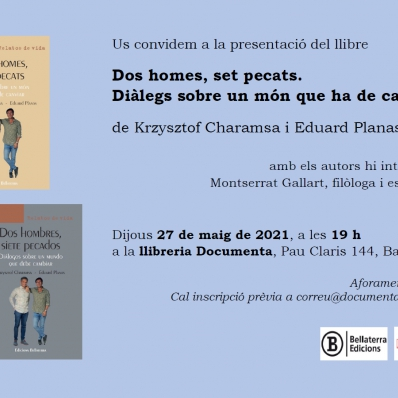 Presentation of our new book in Barcelona